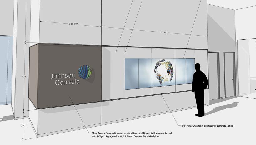 JCI – Executive Briefing Center_welcome_wall_plan
